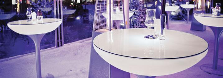 LED tafels huren