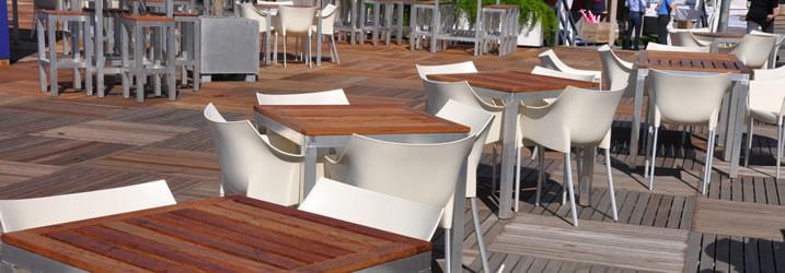 Outdoor tafels huren